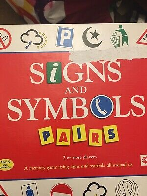 Signs And Symbols Boxed Lotto Game Road Signs • 3.90£