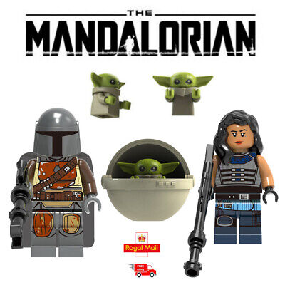 NEW Baby Yoda The Mandalorian Star Wars Minifigure Mini Fig Fits Lego And Block • 6£