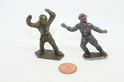 Vintage Lone Star Harvey Series Plastic Soldiers X2 • 2.95£
