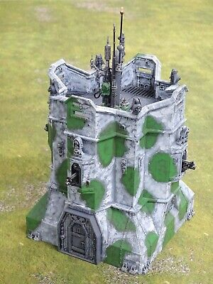 40k Scenery IMPERIAL BASTION Painted GW 75718 • 20£