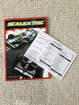 Scalextric Cataogue 36th Edition • 0.99£