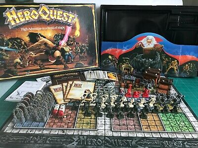 Heroquest Games Workshop/MB Board Game 100% Complete In Excellent Condition • 46£