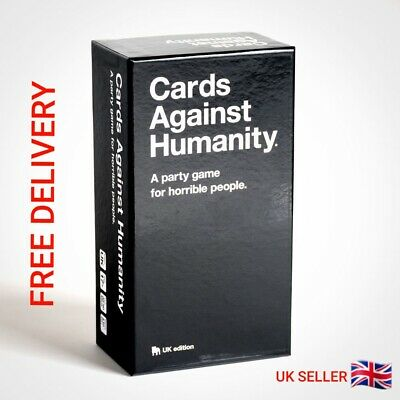 ⭐️Cards Against Humanity UK V2.0 600 Cards Latest Edition New  UK FREE DELIVER⭐️ • 11.89£