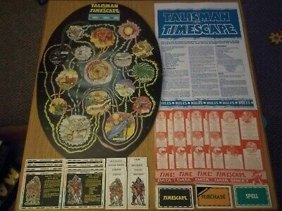 Talisman Timescape Complete Unboxed Opp Rare Rpg Vgc • 51.99£