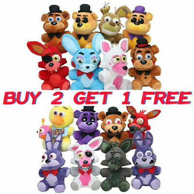 Five Nights At Freddy's FNAF Horror Game Plush Doll Plushie Toys Kids Xmas Gifts • 6.49£