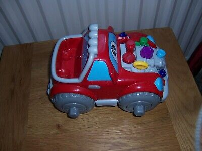 Chicco Talking Sound Toy Car Age 2+ Tools Missing Speaks Also In Spanish - Used • 1.99£