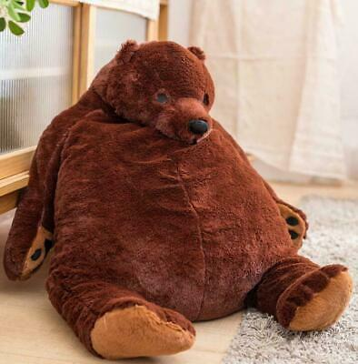 Giant Simulation DJUNGELSKOG Bear Toy Brown Teddy Bear Stuffed Animal Toys XMAS • 24.99£