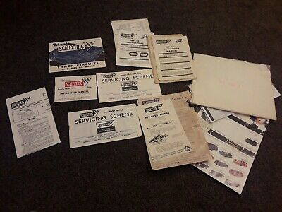 Vintage Scalextric Tri-ang Instruction Manual Fourth Fifth Sixth Twelfth Edition • 5£