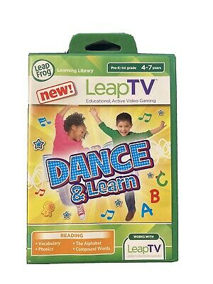 Leapfrog Leap TV Game - DANCE AND LEARN - Ages 4-7 - Active Learning & Exercise  • 6.50£