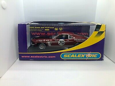 Scalextric C2656 Ford Mustang 69 Stark Hickey  • 34.99£