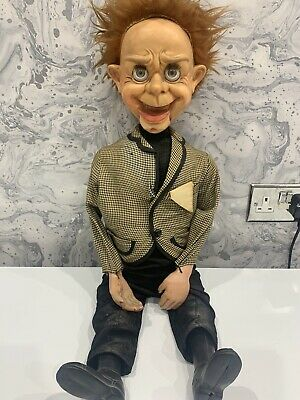 MR PARLANCHIN VENTRILOQUIST DUMMY - Vintage Doll Puppet Scary Horror Kids Toy • 155£
