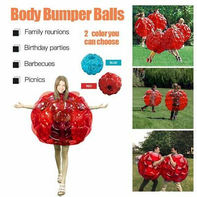 Inflatable Bubble Zorb Ball Kids Funny Impact Toy Soccer Football Funny Outdoor • 21£