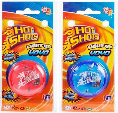 Hot Shots Light Up Return Top Yo Yo With Clutch Action • 9.95£