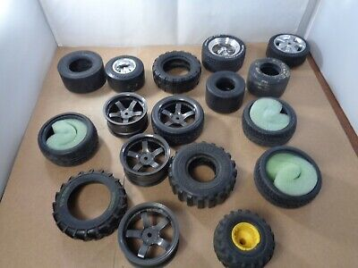 Lot Of R/C & Large Scale Vehicle Wheels & Tyres. • 4.99£