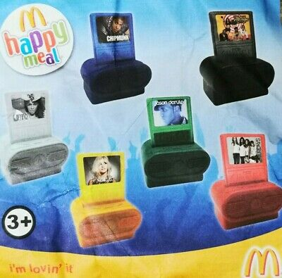 McDonalds Happy Meal Toy 2011 UK Digital Music Players Toys - Various Artists • 9.75£