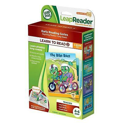 LeapFrog LeapReader Set Of 6 Books: Learn To Read, Volume 2 (works W/ Tag) 4-6y • 14.99£
