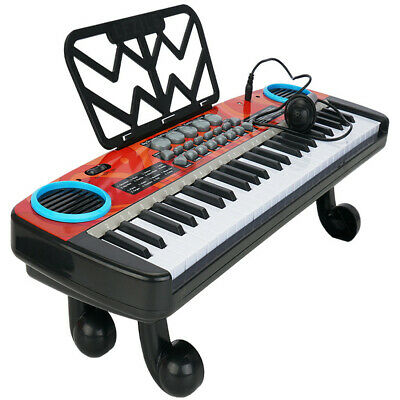 49 Keys Multifunction Electronic Piano Kids Keyboard Music With Microphone • 17.99£