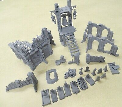 Warhammer Age Of Sigmar AZYRITE RUINED CHAPEL + Extras £35 At GW 75430 • 24.99£