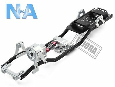 1/10 RC Crawler Car 313mm 312mm 12.3  Wheelbase Gearbox Metal Chassis Frame • 37.99£