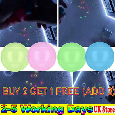 1/4PCS Sticky Wall Balls For Ceiling Stress Relief Globbles Squishy Kids Toys • 6.47£