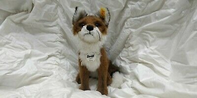 Steiff Ferdy Mohair Fox, Limited Edition Steiff Toy, Original All Tags In Tact • 23£
