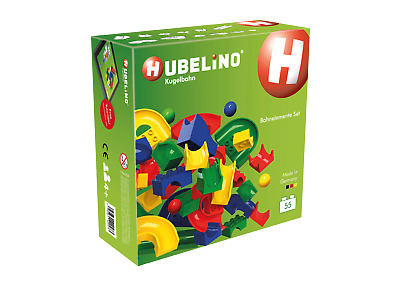 Hubelino Marble Run: 55 Piece Run-element Set - Duplo Compatible! • 39.99£
