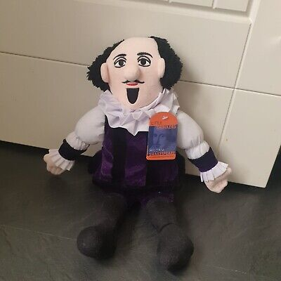 William Shakespeare Soft Toy - Little Thinkers Doll • 14.99£