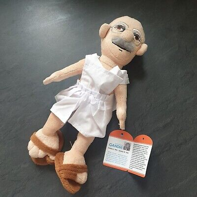 Mahatma Gandhi Little Thinkers Doll - Display Only Fab Condition Original Tag • 14.99£