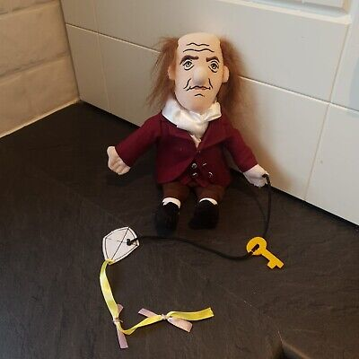 Benjamin Franklin Little Thinkers Doll - Display Only Fab Condition Original Tag • 11.99£