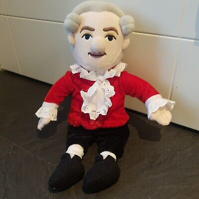 W.A Mozart  Little Thinkers Doll - Wind-up Music Box Sewn Into Jacket • 14.99£