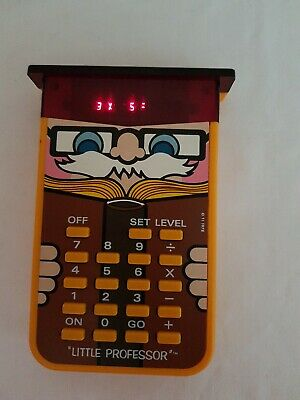 Vintage Little Professor 1978 - Texas Instruments - Good Working Order • 8£