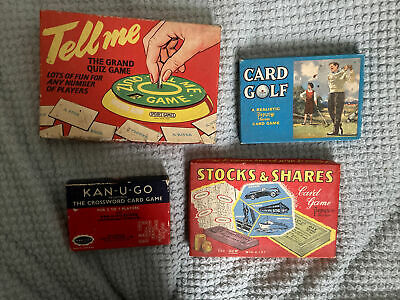 Collection Of Vintage Card Games • 9£