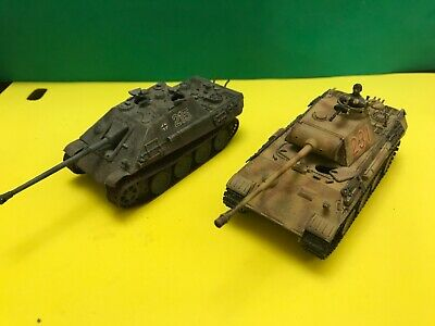 1:72 Scale Model German Tanks Superb Professionally Built And Decorated • 3.91£