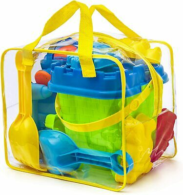 Prextex Beach Toy Set In Reusable Zippered Bag For Easy Clean And Store • 17.99£