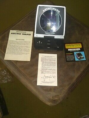 Boxed Grandstand Astro Wars Vintage 1981 Tabletop Electronic Game  • 34£