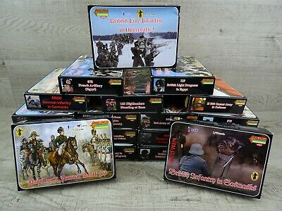 Strelets 1/72 Unpainted Plastic Model Kit Figures British French ETC You Choose • 13.99£