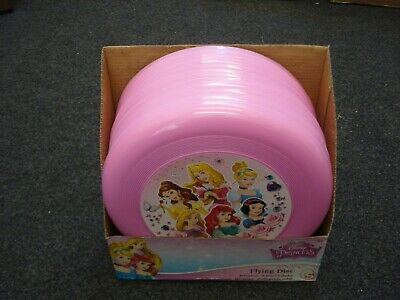 24 Disney Princess Flying Disc Frisbee Rings Bankrupt Stock Clearance Toy Sale  • 29£