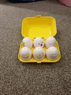 Tomy Hide And Squeak Eggs • 3.99£