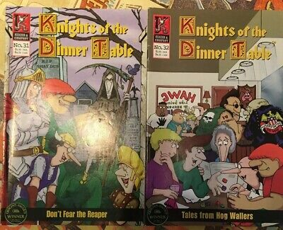 Knights Of The Dinner Table -  2 Issues - 31 & 32 • 5£