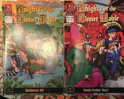 Knights Of The Dinner Table -  2 Issues - 27 & 28 • 5£