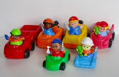Fisher Price Little People Cars/Vehicles & Figures Bundle • 9.99£