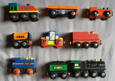 Wooden Railway - Locomotives/Rolling Stock. - USED • 0.99£