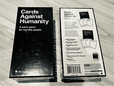 Cards Against Humanity Uk • 17.99£