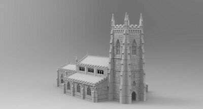 WOW Buildings 1/72 (20mm) Church (Small) • 34£