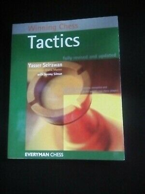 Winning Chess Strategies And Winning Chess Tactics Books - Yasser Seirawan • 6.99£