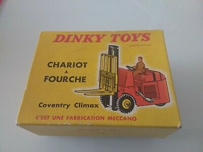 Dinky Toys 1/43 597 Chariot à Fourche Fabrication Meccano Vintage  • 40.07£