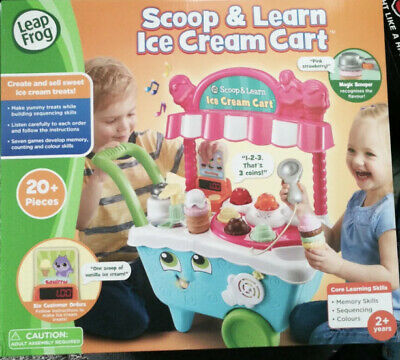 Brand New & Unused - LeapFrog Scoop & Learn Ice Cream Cart • 34.99£
