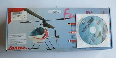 IKARUS PICCOLO FUN RC Helicopter Kit. New Boxed And Unused Old Stock • 50£