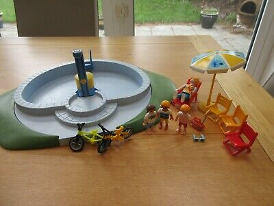 PLAYMOBIL Swimming Pool With Figures • 9.99£