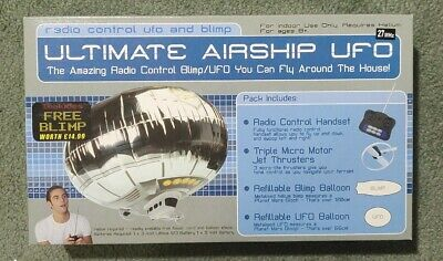 Radio Control UFO And Blimp By BSD Ltd. 'Ultimate Airship UFO'  HARD TO FIND • 46£